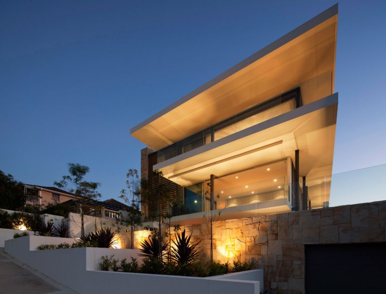 designer luxury homes.  Vaucluse House by MPR Design Group