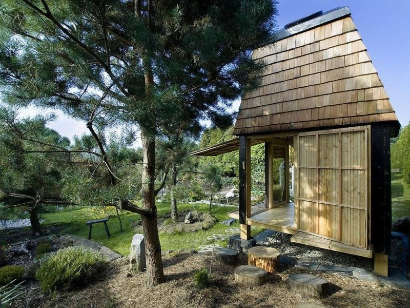 Hat Teahouse by A1 Architects
