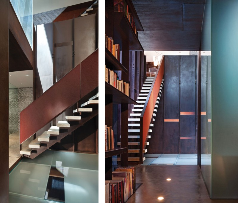 Loft Rentals Nyc: Inverted Warehouse-Townhouse By Dean-Wolf Architects
