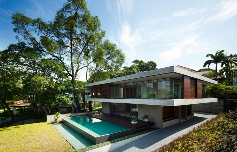 Modern Small Beautiful Homes Singapore