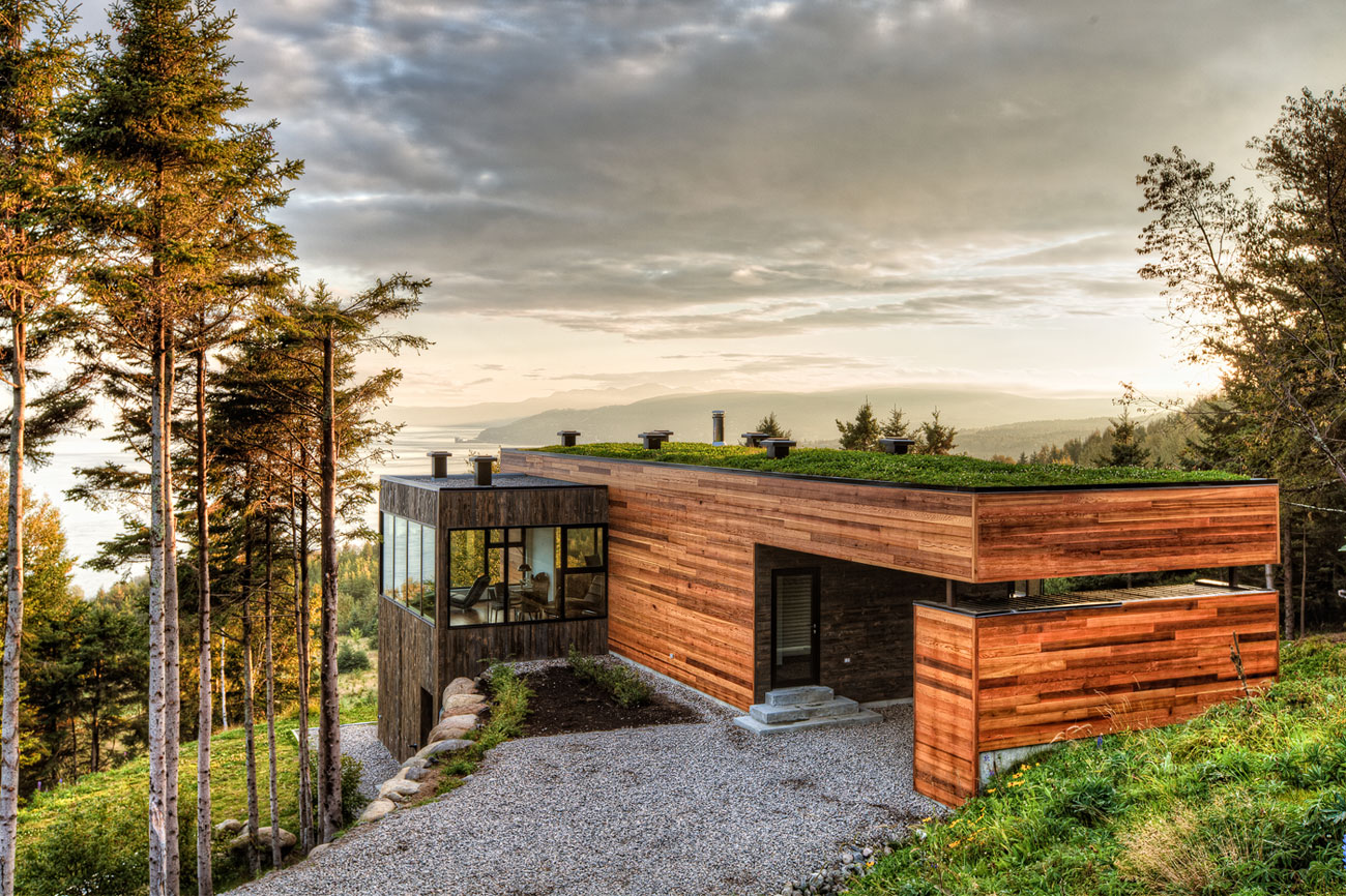 "Malbaie V ""Le Phare"" by Mu Architecture"