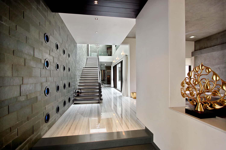 The Wall House By Dipen Gada Amp Associates