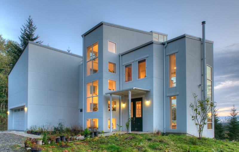 Thomas eco house by designs northwest architects for Sustainable home design