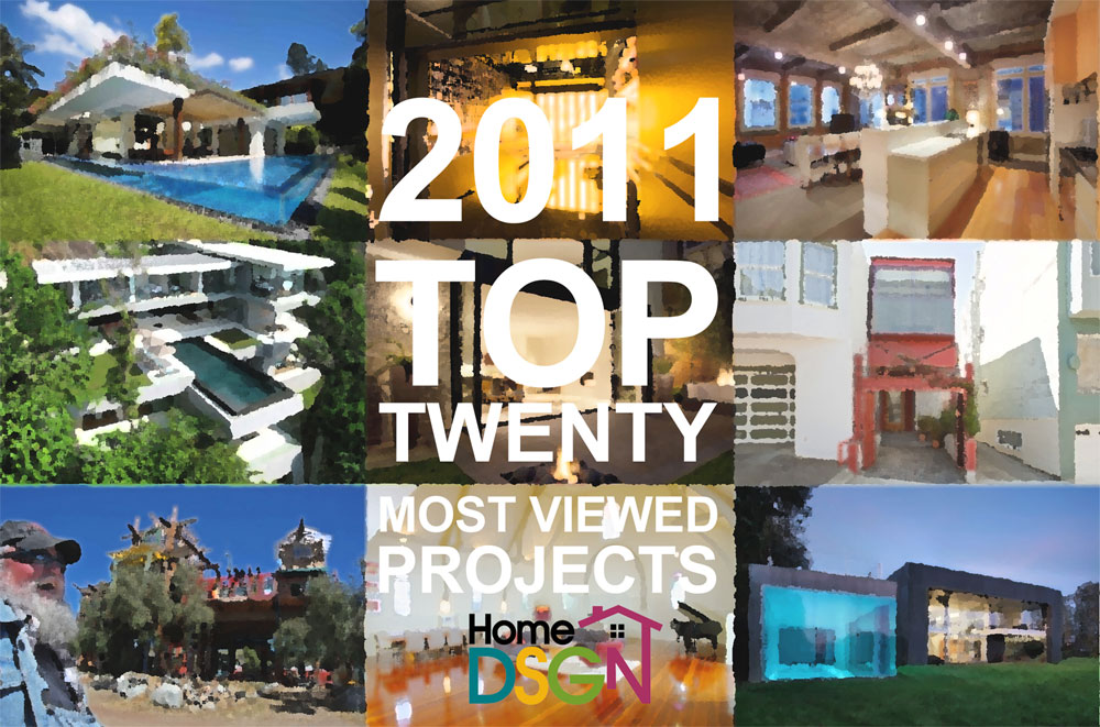 HomeDSGN's 20 Most Viewed Projects of 2011