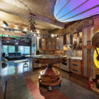 Surreal Steampunk Apartment in Chelsea, New York City (3)