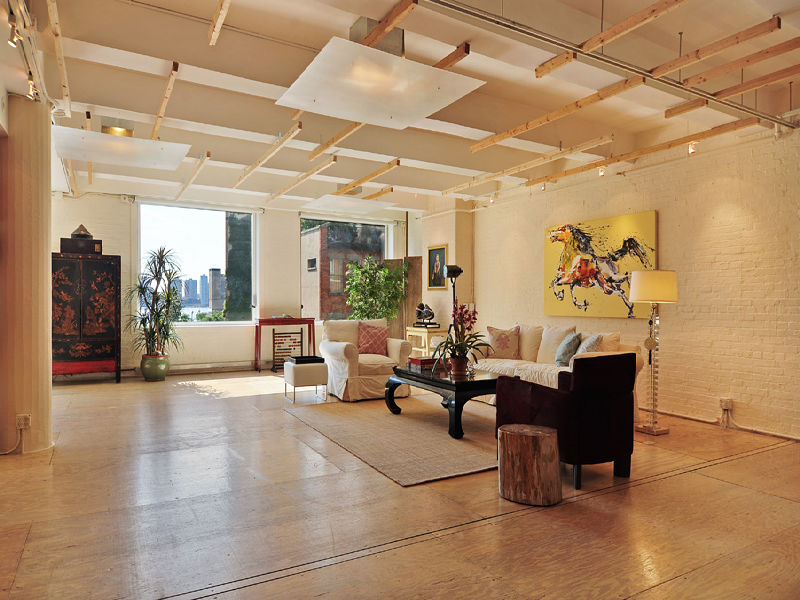 Industrial style loft in manhattan new york city for Lofts in nyc for sale