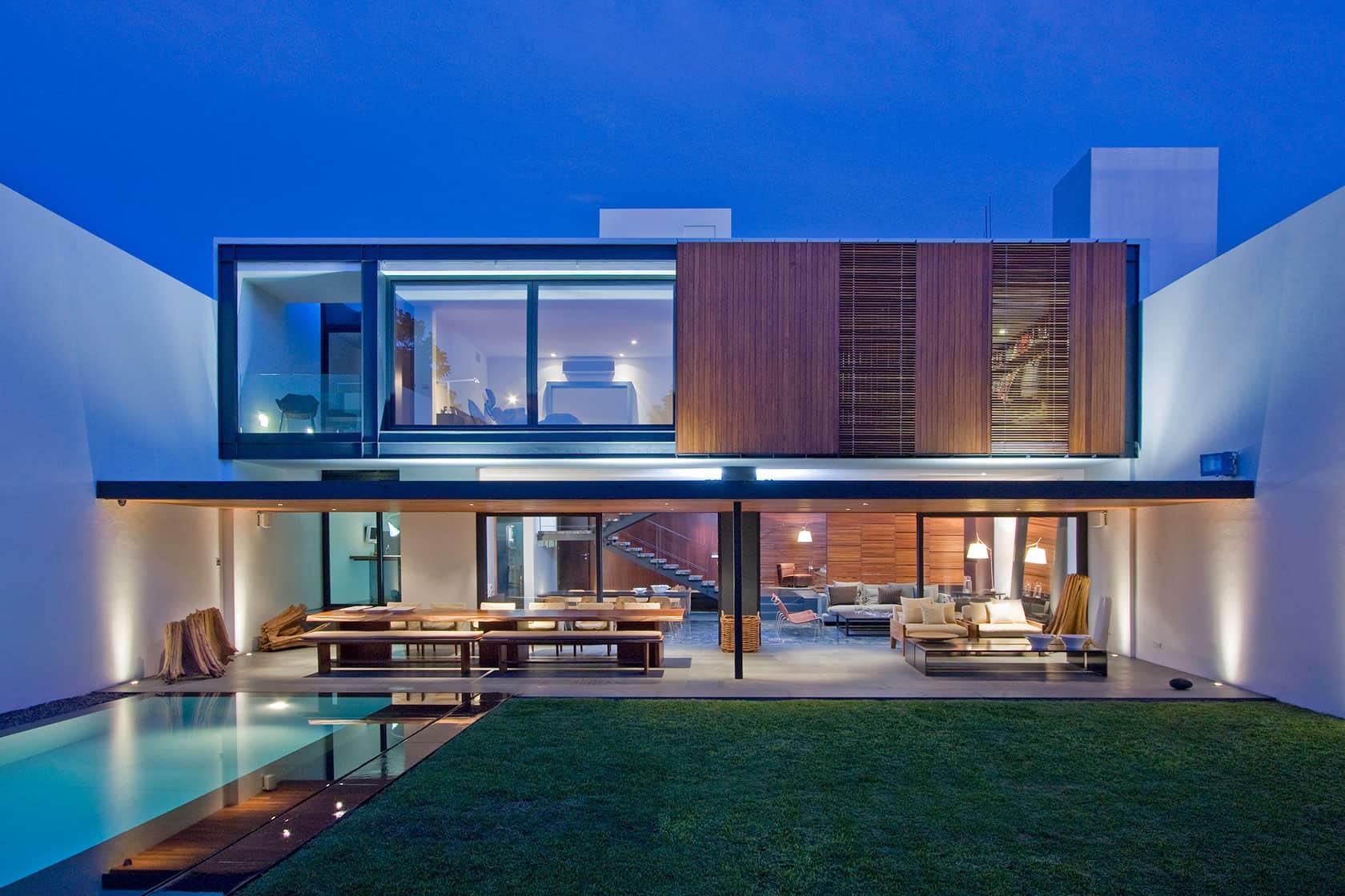 Casa ro by el as rizo arquitectos for Casa de arquitecto moderno