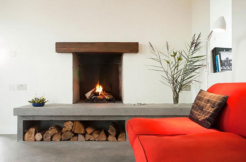 Modern Open Fireplace Ideas - Image Of Fireplace Imagehouse.Co