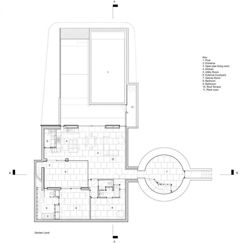 Marina Blue Floor Plans: House Plans With Round Towers