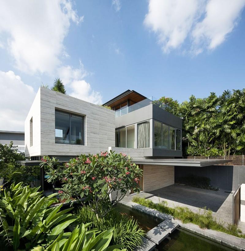 Travertine Dream House by Wallflower Architecture + Design