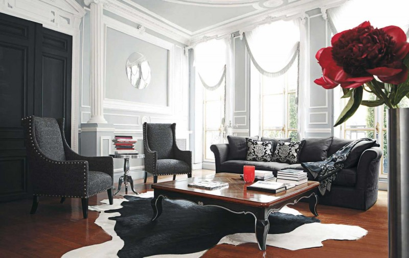 black sofa living room. View in gallery Living Room Inspiration  120 Modern Sofas by Roche Bobois Part 2 3