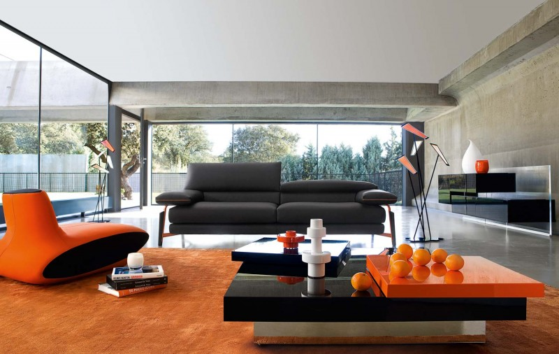 design of living room modern. View in gallery Living Room Inspiration  120 Modern Sofas by Roche Bobois Part 2 3