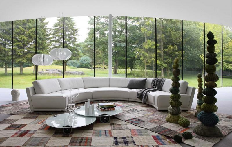 Living Room Inspiration: 120 Modern Sofas by Roche Bobois (Part 3/3)