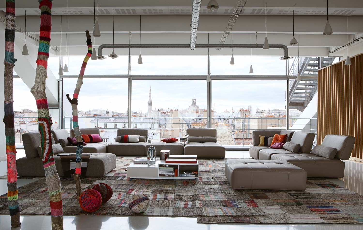 Room Inspiration: 120 Modern Sofas by Roche Bobois (Part 3/3)