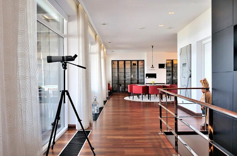 Scandinavian Design Beautiful Duplex Penthouse In Malmo Sweden - Sleek-and-beautiful-apartment-in-sweden