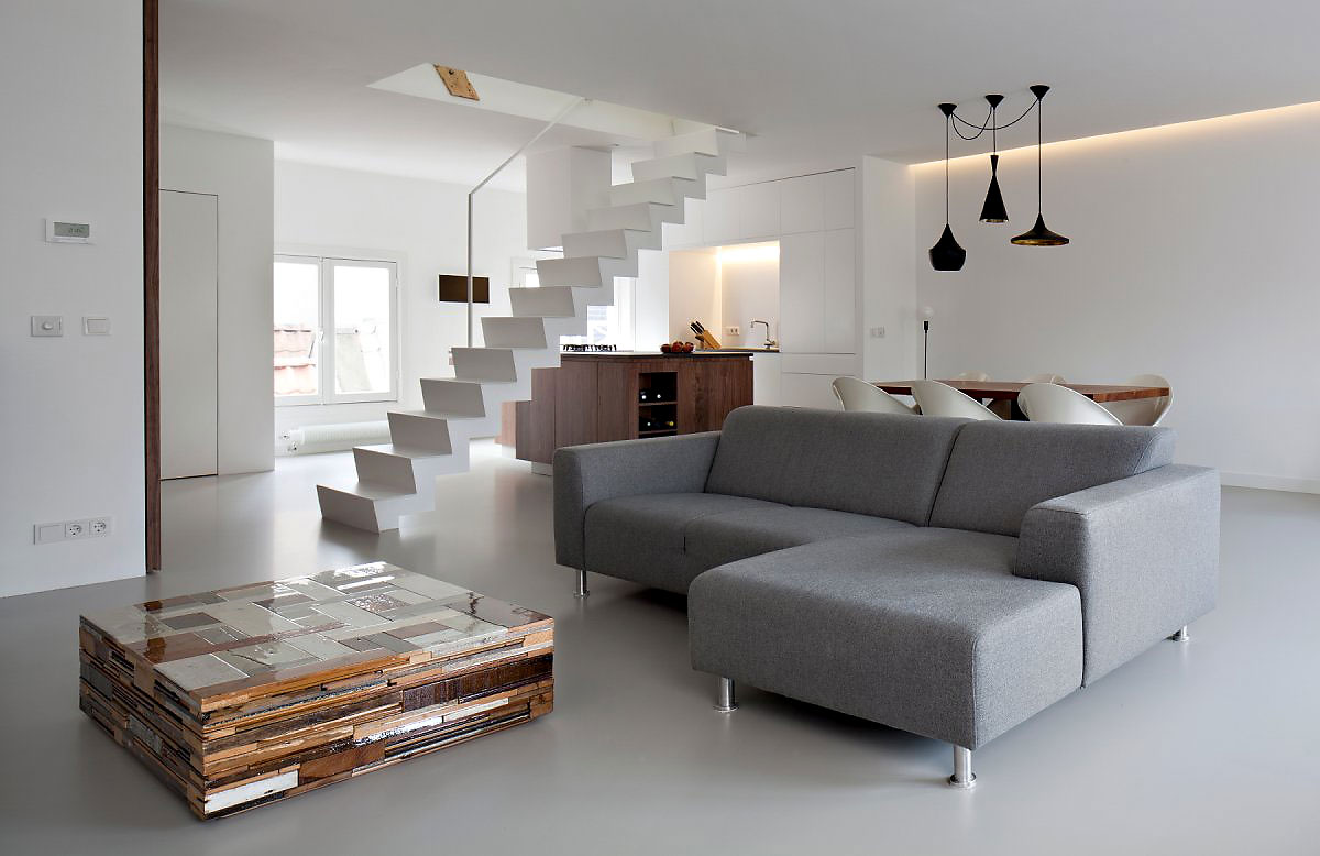 Inspiring Amsterdam Apartment Interior By Laura Alvarez Architecture