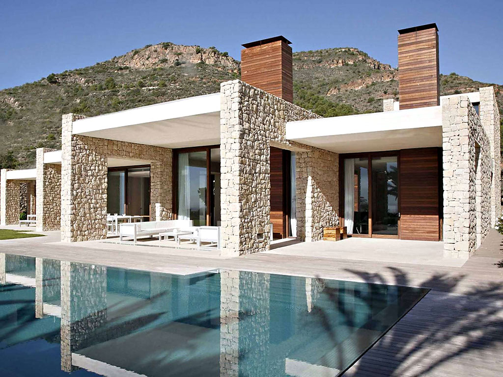 House in Monasterios by Ramon Esteve