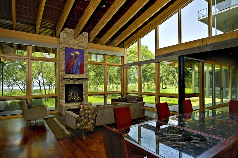 House on cedar hill by cunningham architects - House on the hill 2012 ...