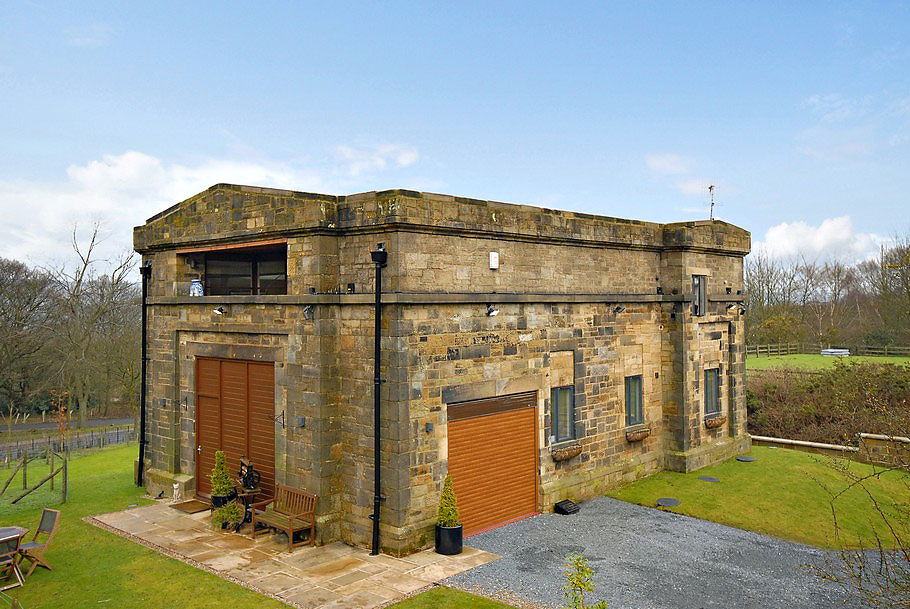 1848 Water Pumping Station Conversion in Yorkshire