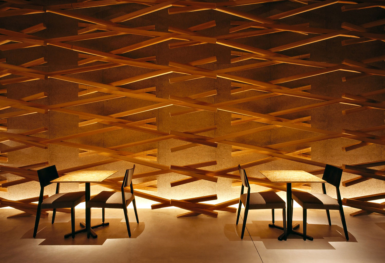 Starbucks Interior by Kengo Kuma and Associates