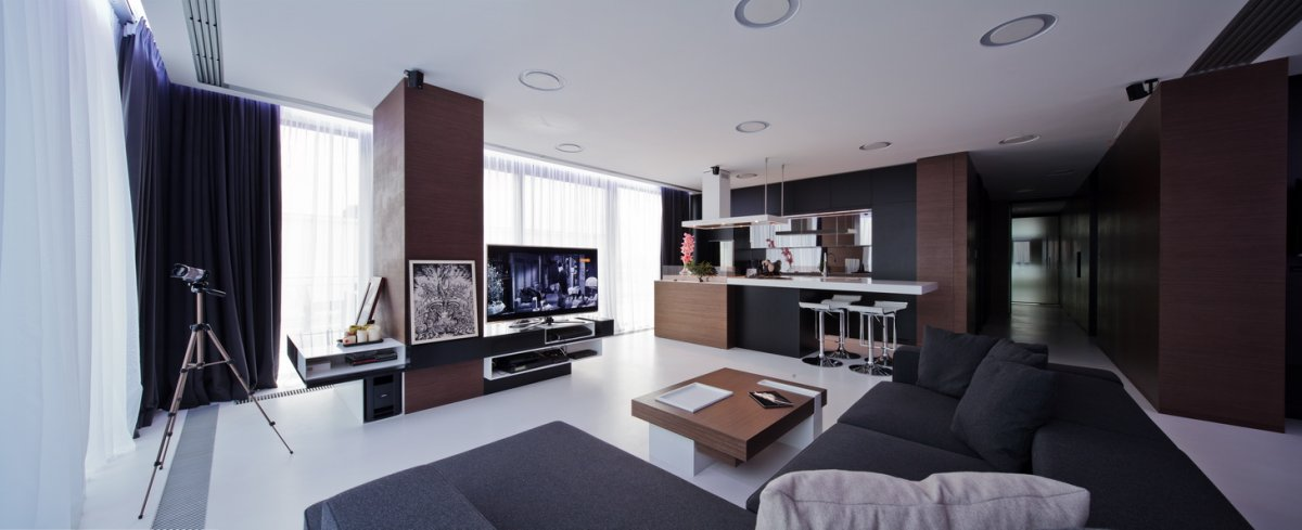 Apartment Interior in Romania by Square ONE
