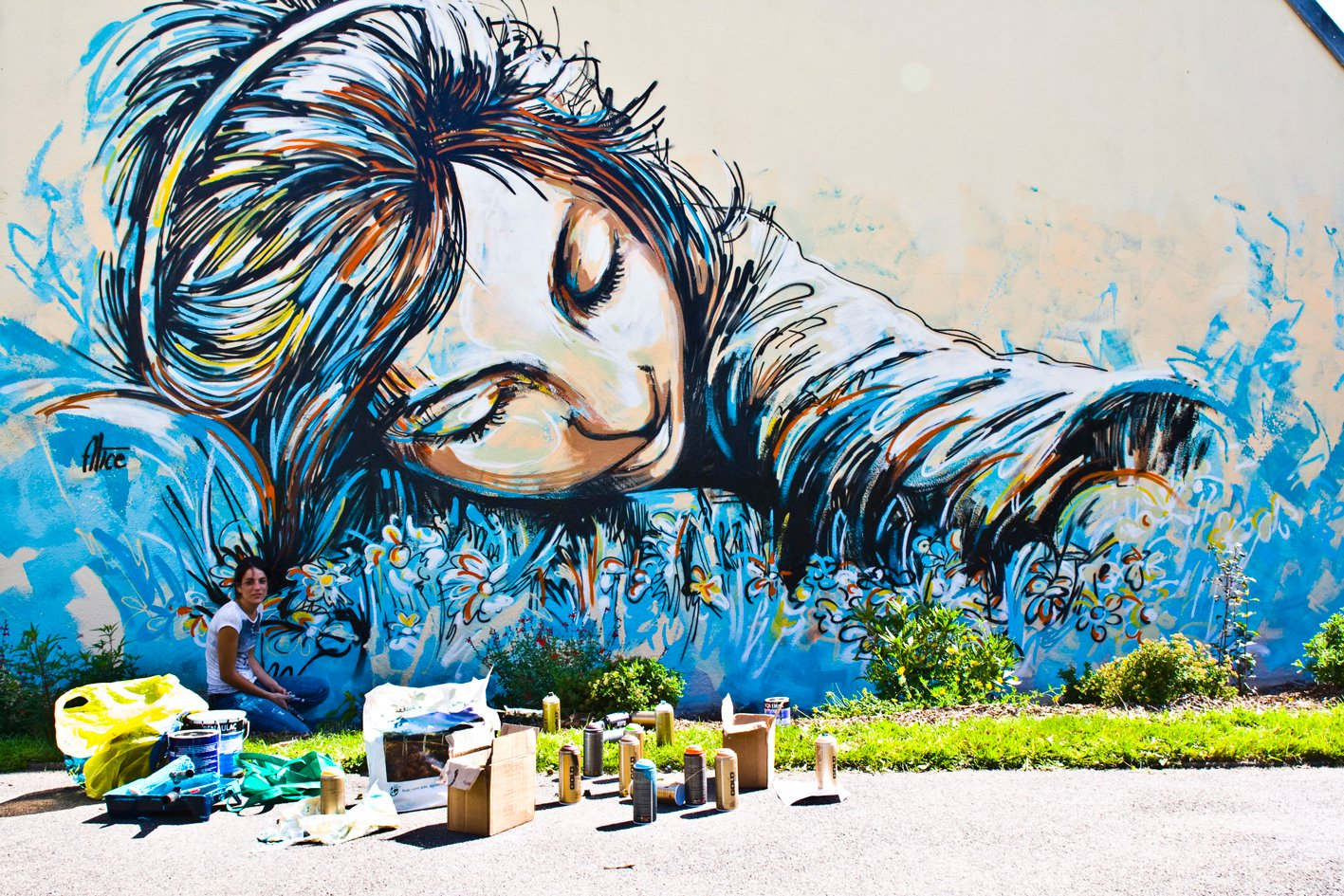 Street Art by Alice Pasquini