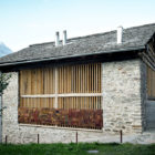 Redevelopment of a Barn in Soglio by Ruinelli Associati Architetti