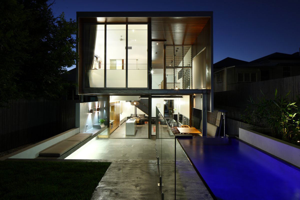 Gibbon Street House by Shaun Lockyer Architects