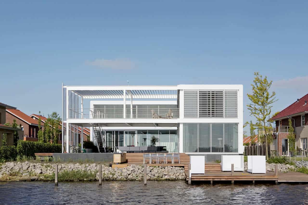Steel Study House II by Archipelontwepers