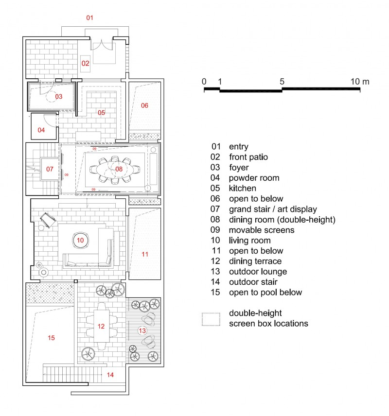 floor plan art of display