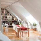 Attic Penthouse in Stockholm with Spectacular Views