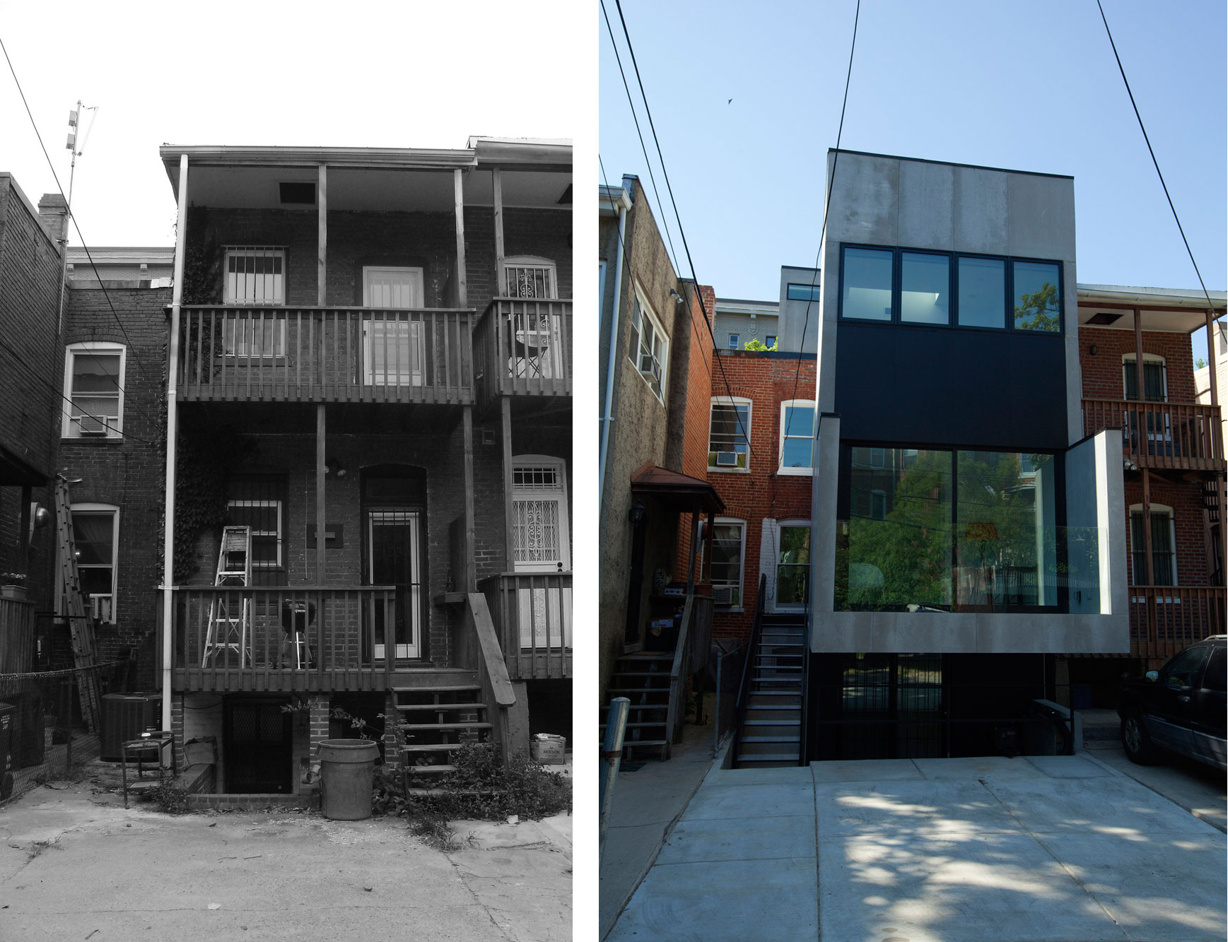 Before/After: Church Street Residence by Division1 Architects