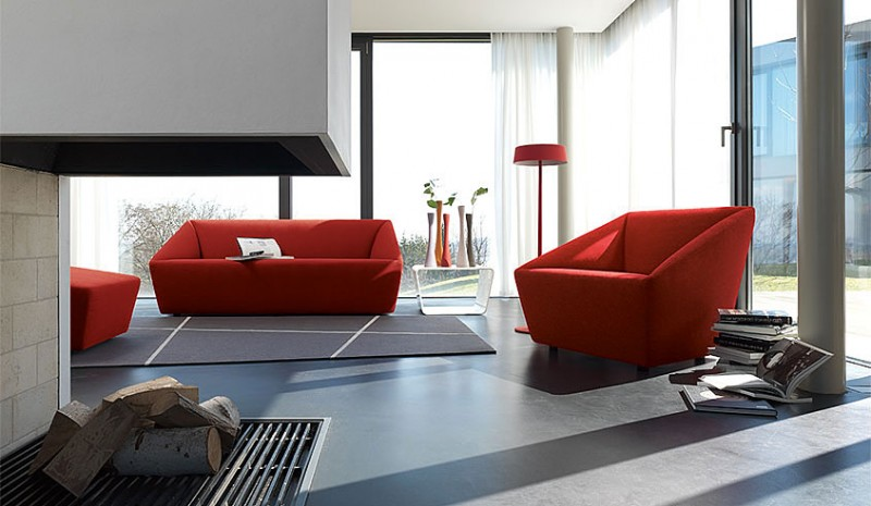 Living Rooms With Red Sofas.  Living Room Inspiration 30 Modern Sofas by COR