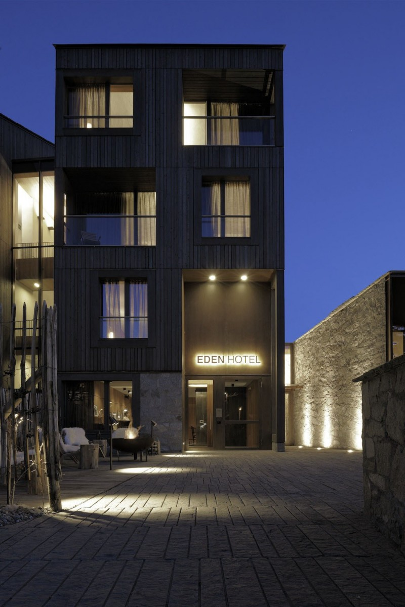 Eden hotel by antonio citterio patricia viel and partners for Design hotel eden