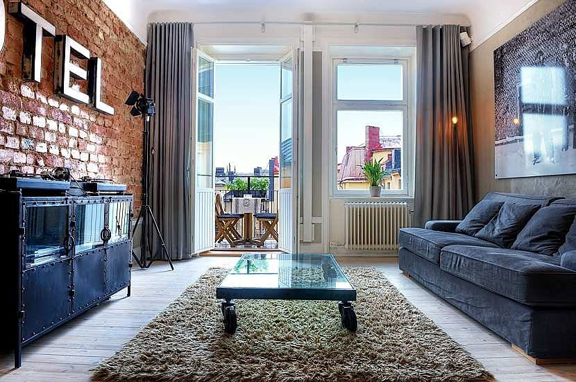 Scandinavian Design Bright One Bedroom Pad In Central