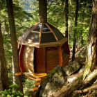 Secret HemLoft Treehouse by Joel Allen (4)