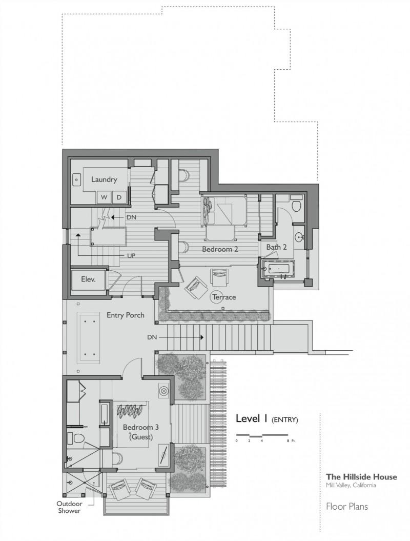 Hillside House by SB Architects on modern split level home designs, modern brick home designs, modern alpine home designs, modern vacation home designs,