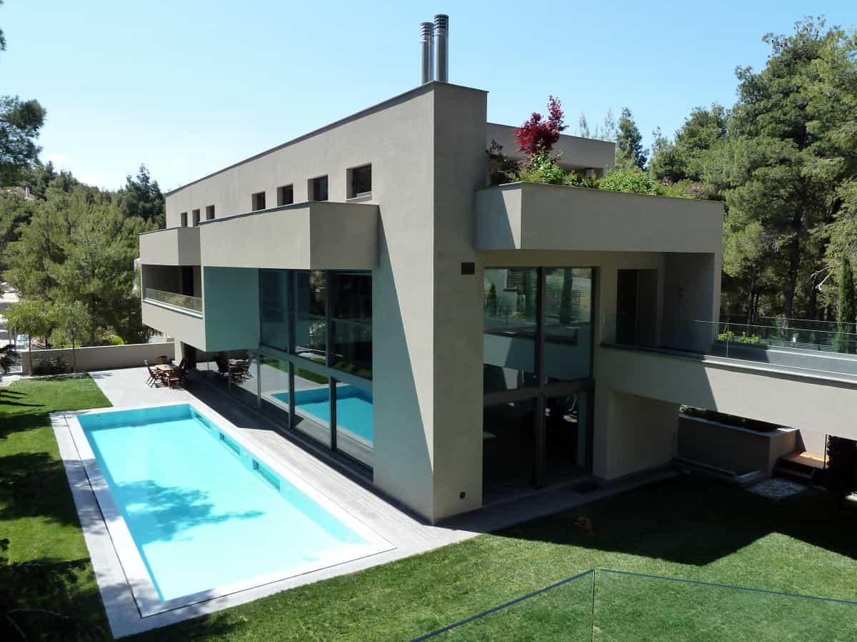 House in Dionysos by Nikos Koukourakis & Associates