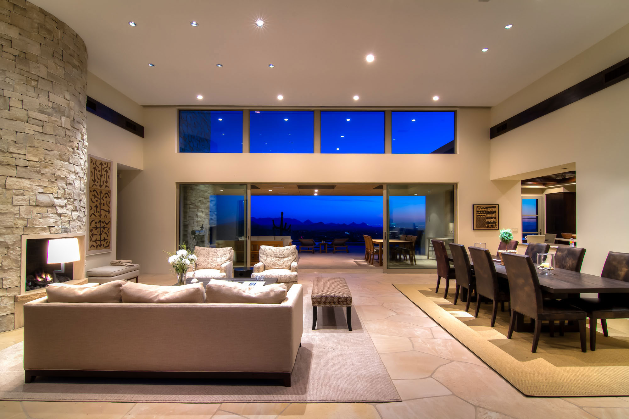 Shanholt residence by brissette architects - Living room definition architecture ...