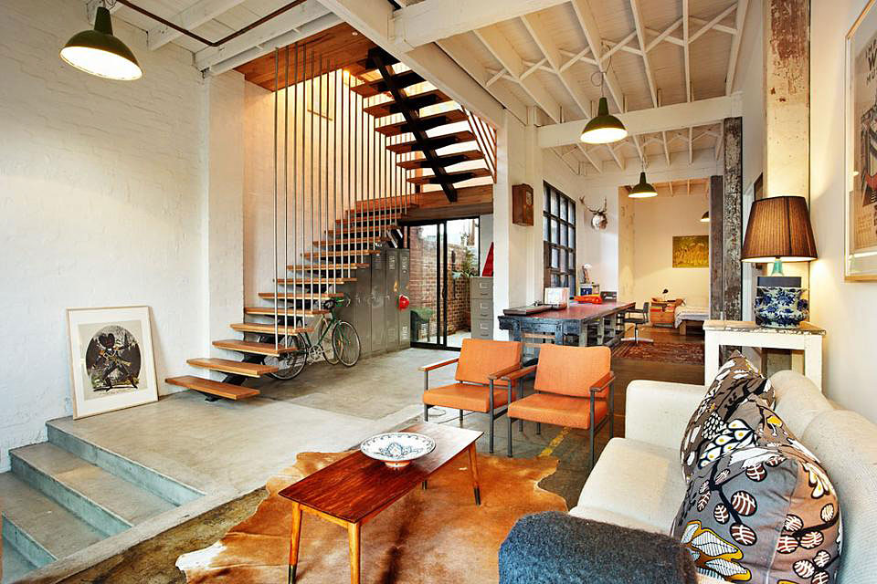 New York-Style Warehouse Conversion in Melbourne (1)