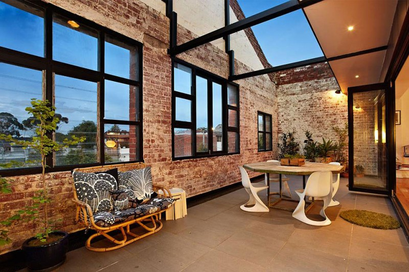 New york style warehouse conversion in melbourne for Warehouse style house plans