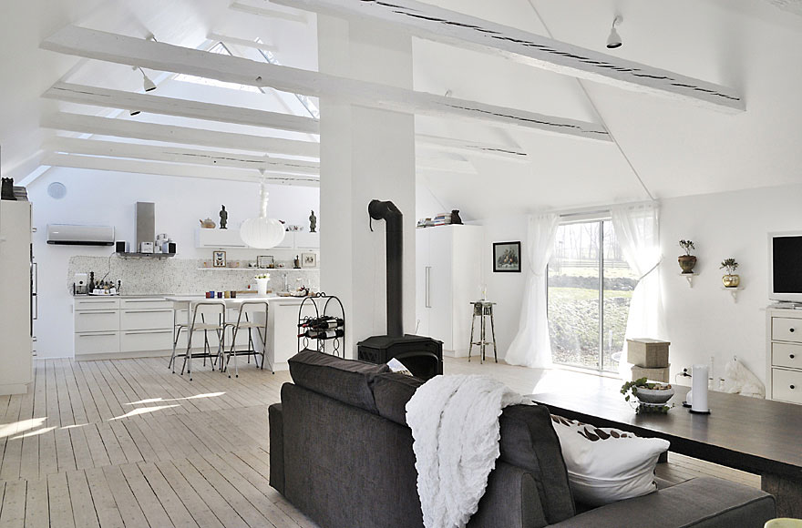 1,087 square foot, Rural Contemporary Home in South Sweden