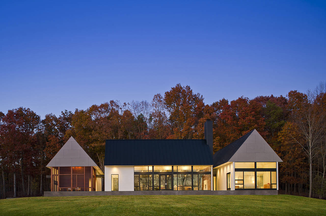 Becherer house by robert gurney architect - Pavillon residentiel moderne gurney architecte ...
