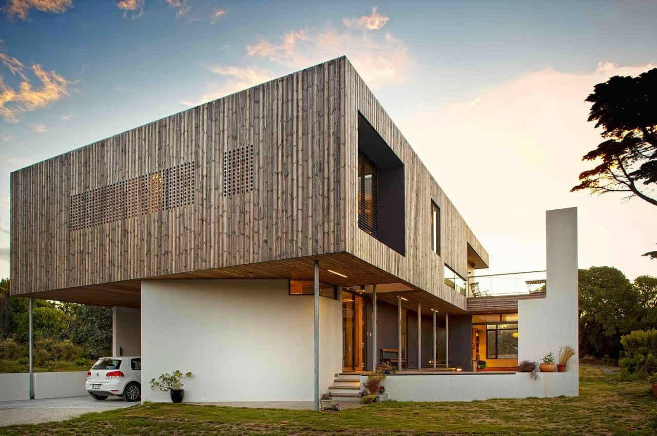 Lagoon beach house by birrelli architecture for Beach house architecture