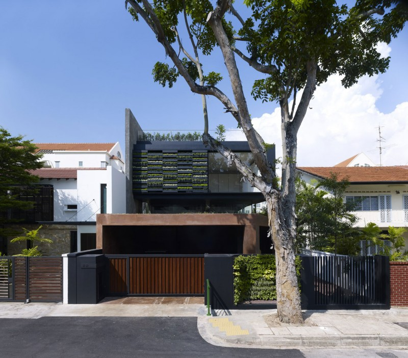 Modern Normal House Front Designs Singapore