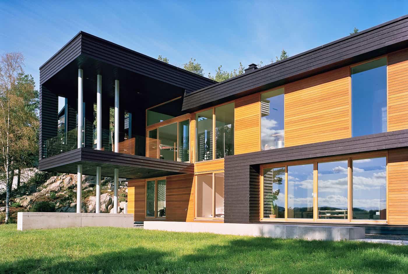Villa storingavika by saunders architecture for Architecture villa