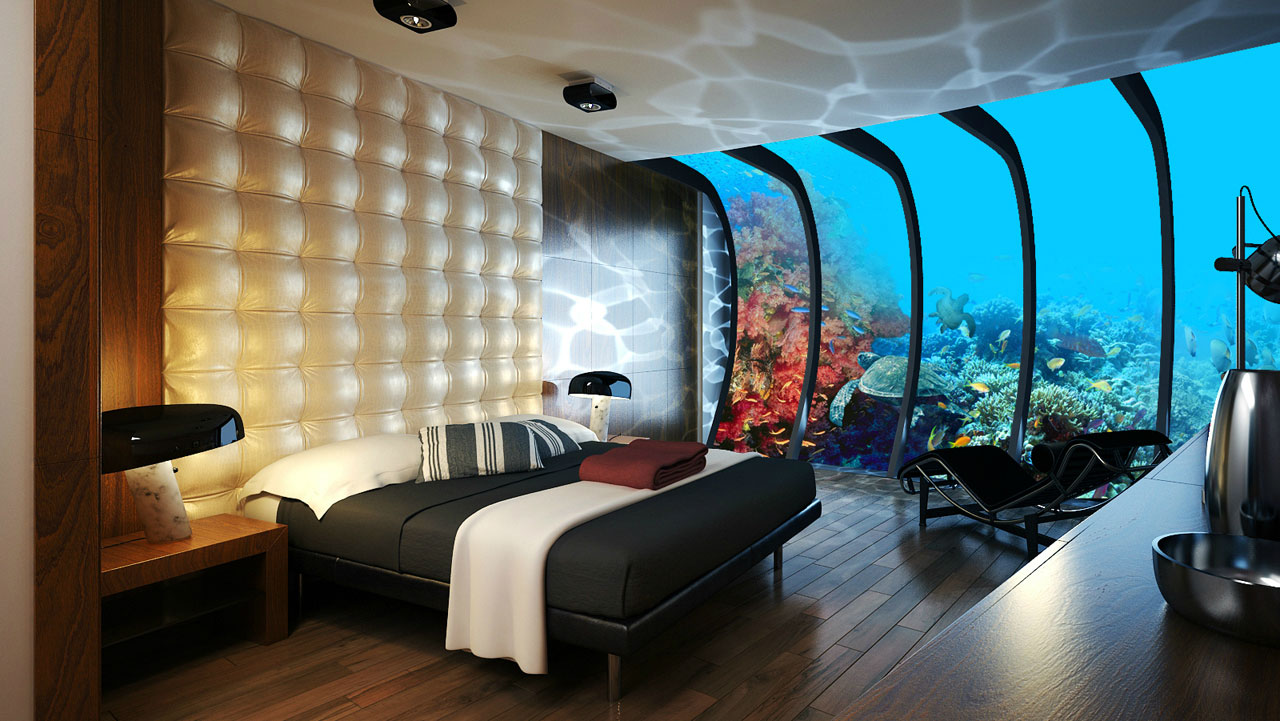 The Water Discus Underwater Hotel planned for Dubai