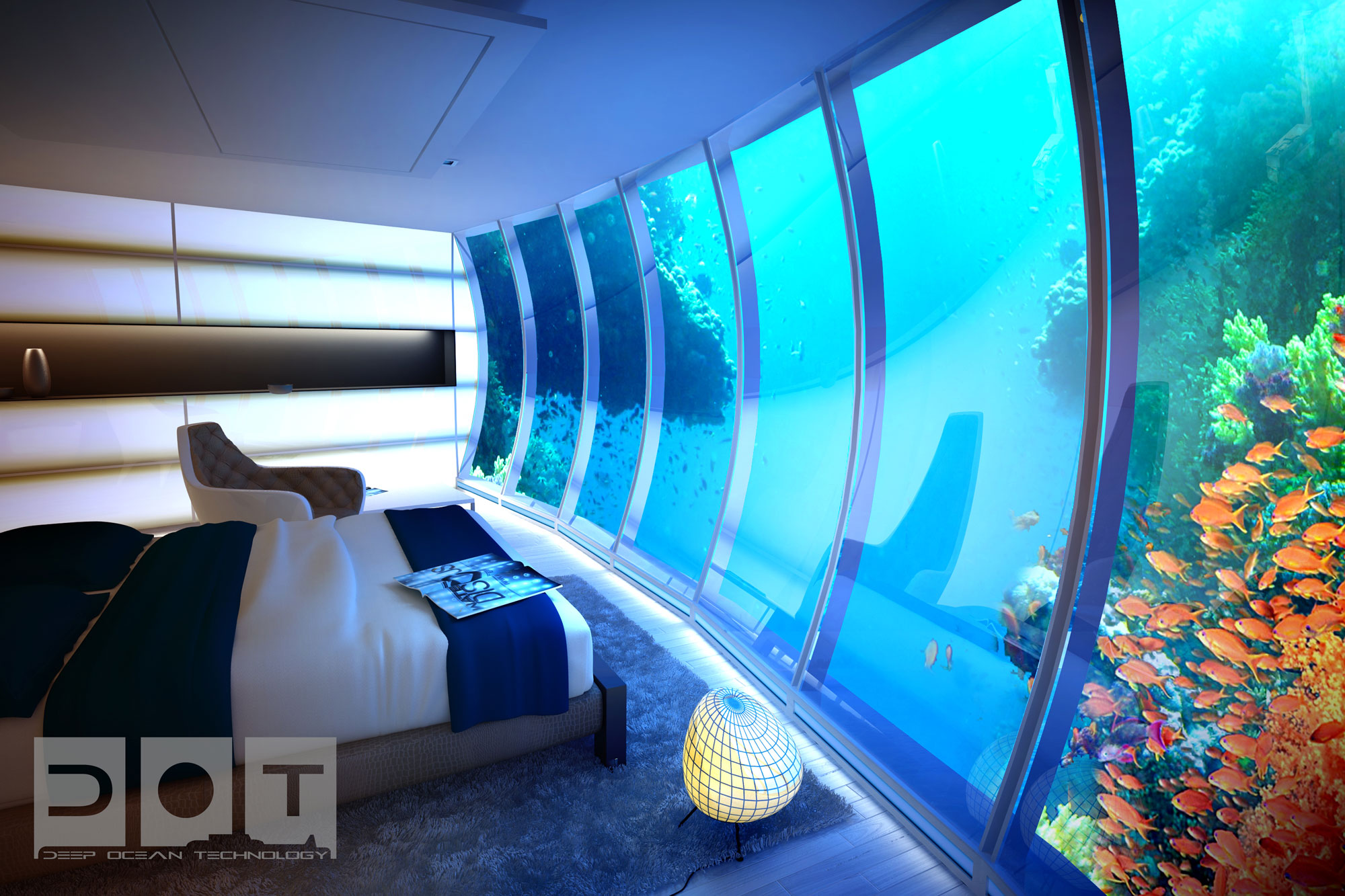 The Water Discus Underwater Hotel planned for Dubai (12)