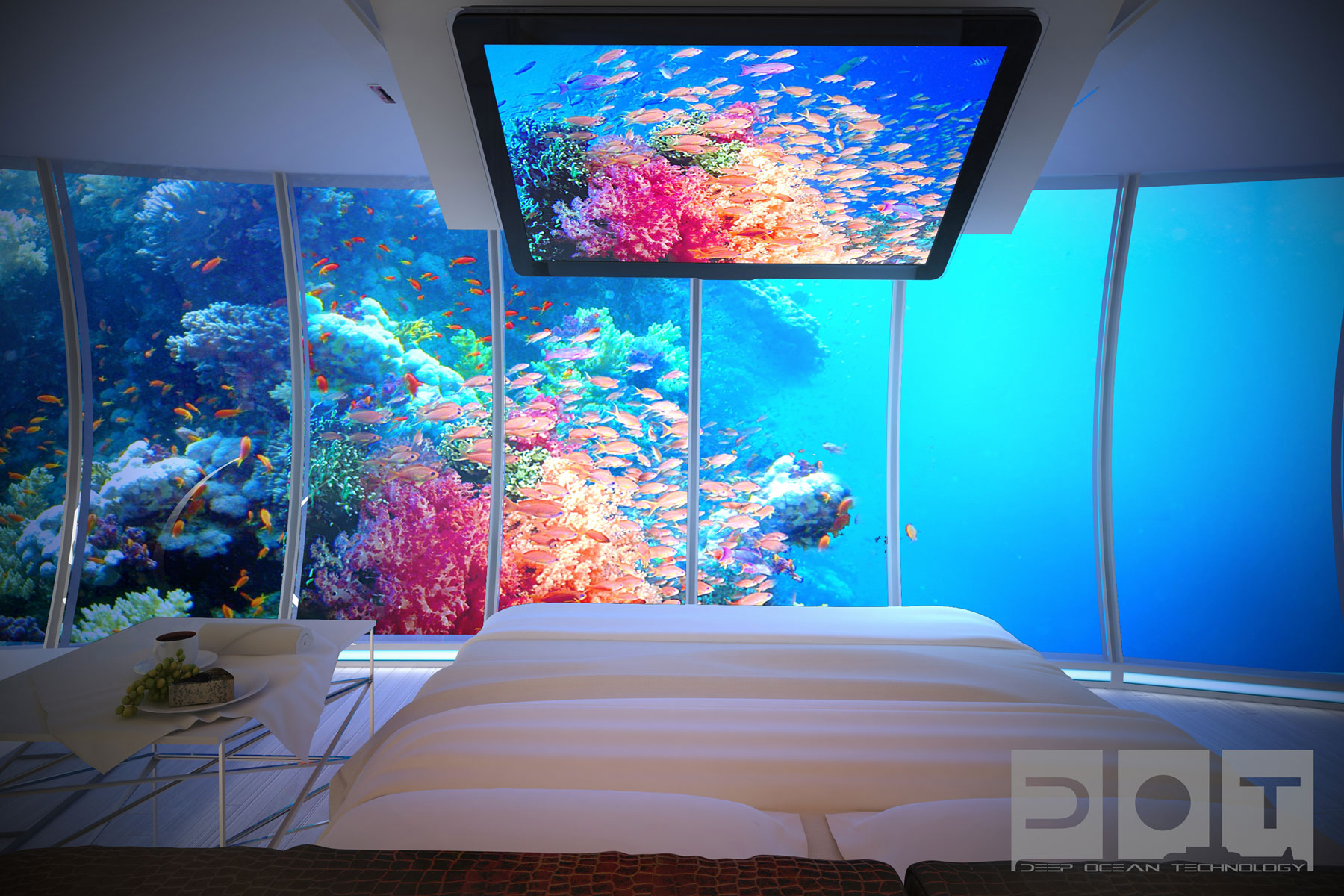 The Water Discus Underwater Hotel planned for Dubai (13)