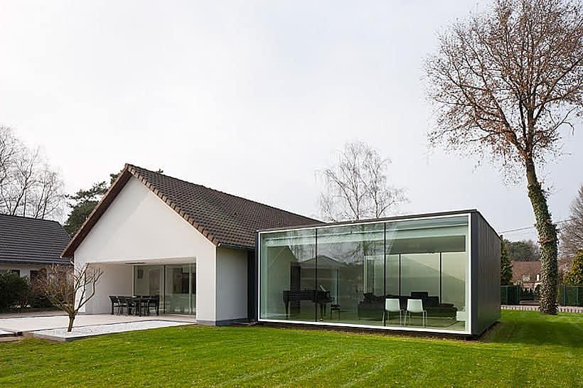 Framework House by Cocoon Architecten
